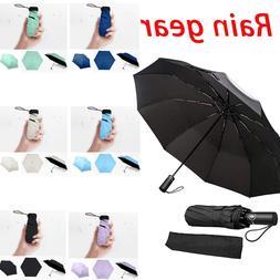 Premium Windproof Umbrella Elegant & Simple Compact for Trav