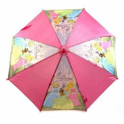 Disney Princess Girl's Pink Princess Handle Umbrella
