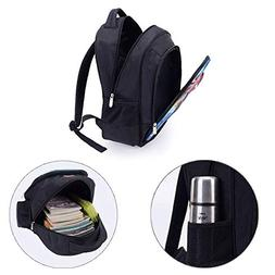 """13.7"""" Print Sublimated Backpack,Urban,Oil Painting Style Vie"""