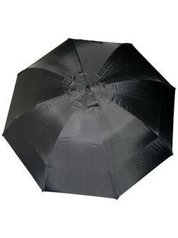 GustBuster Pro Series Gold Umbrella 62 Inch Black
