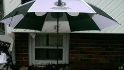 GustBuster Pro Series Gold Umbrella 62 Inch Hunter/White
