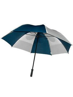 GustBuster Pro Series Gold Umbrella 62 Inch Navy/White