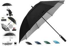 Prospo 62/68 inch Golf Umbrella UV Protection Auto Open Larg