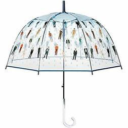 """Raining Golf Men"" Clear Bubble Dome Umbrella Funny And Func"