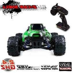 Distianert RC Truck 1/18 Scale Flexible 4WD RC Car for Kids