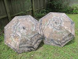 """Realtree Camouflage 2 Pack 68"""" and 60"""" Golf Umbrella"""