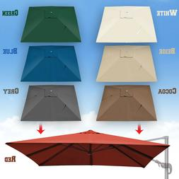 Replacement Canopy for 10'x10' ROMA Cantilever Patio Umbrell