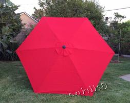 """BELLRINO DECOR Replacement RED """" STRONG  THICK """" Umbrella Ca"""