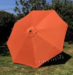 BELLRINO DECOR Replacement Orange STRONG & THICK Umbrella Ca