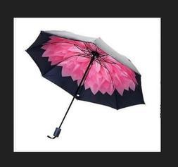 Reverse Umbrella Double Layer Inverted Windproof Waterproof