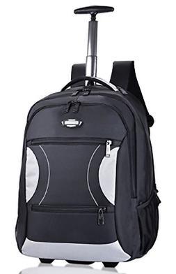 Rolling Backpack, Coofit Wheeled Backpacks Roller Backpack f