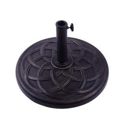 "22"" Round Patio Umbrella Base Stand Outdoor Heavy Duty Umbre"