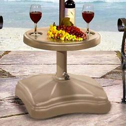 Shademobile Rolling Patio Umbrella Base with Locking Wheels