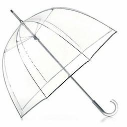 totes Signature Clear Bubble Umbrella, Nordic Tiles, One Siz