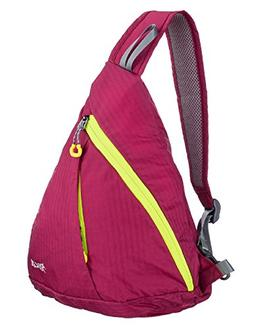 ICOLOR 10L Sling Chest CrossBody Bag Shoulder Backpack Cover