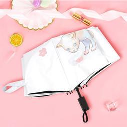 Small and fresh lady cat lovely Korean edition 50 fold pocke