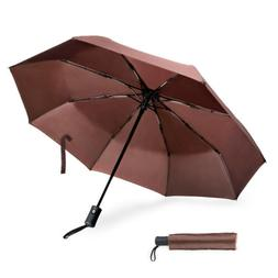 Small Travel Compact Totes Double Umbrellas Windproof Auto O