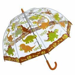 "Bugzz Soake Kids PVC Stick 24"" Umbrella Dinosaur Boys Childr"