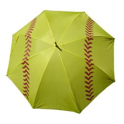 "Softball Girls Fast Pitch Slow Pitch Golf Umbrella 60"" 2PK"