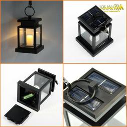 Solar LED Umbrella Lantern Hanging Light Indoor Outdoor Gard
