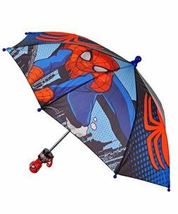 Spiderman Toddler Boy Umbrella Age 3 Kids Marvel Avengers Ch