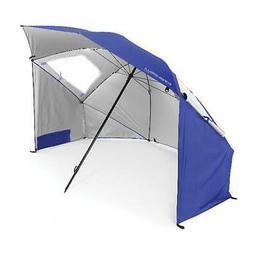 Sports Umbrella Sun and Rain Protection Canopy Beach Blue an