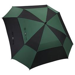 G4Free Extra Large Square-Shape Golf Umbrella 62 Inch Oversi