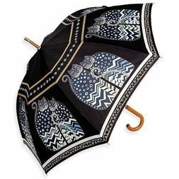 Laurel Burch Stick Umbrella 42 Canopy Auto Open-Polka Dot Ca