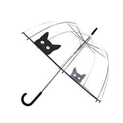 SMATI Stick Umbrella dome transparent - Auto Open - for Wome