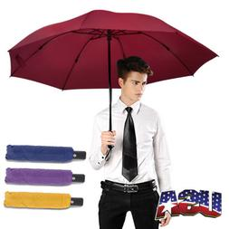 Strong Windproof Umbrella Automatic Open/Close Portable Fold