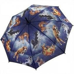 - Galleria Art Print Auto Open & Close Folding Umbrella - R