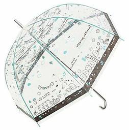 Sumikko Gurashi Clear Plastic Umbrella Glass Fiber Ribs 60cm