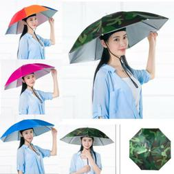 Sun Umbrella Hat Outdoor Hot Foldable Golf Fishing Camping H