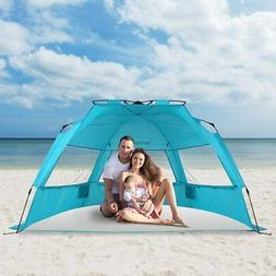 4 Person Outdoor Family Beach Tent Waterproof Auto Pop up Te