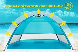 super beach camping tent sun shelter umbrella