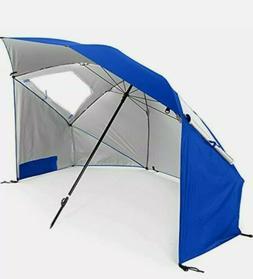 Super-Brella SPF 50+ Sun & Rain Canopy Umbrella Beach & Spor