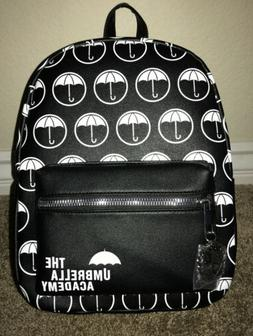 The Umbrella Academy Black And White Umbrellas Mini Backpack