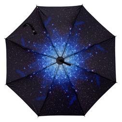 Three Fold Rain Or Shine Dual Purpose UV-Protection Parasol