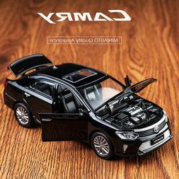 Toyota Camry 1:32 Alloy Diecast Model Car Sound&Light Toys&C