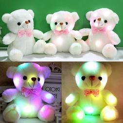 Toys For Girls LED Stuffed Bear Toy Kids Night Light Lamp Ye