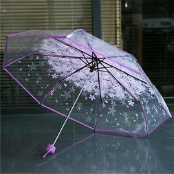 transparent clear umbrella cherry blossom mushroom apollo
