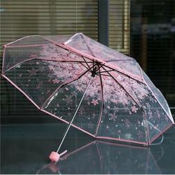 Transparent Clear Umbrella Cherry Blossom Mushroom Apollo Sa