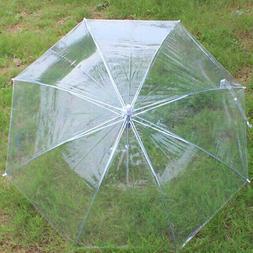 Transparent Clear Umbrella Dome contracted Wedding Party Dec