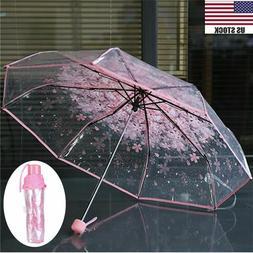 Transparent Umbrella Cherry Blossom Mushroom Apollo Sakura P