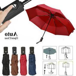 Travel Auto-Open/Close Umbrella Anti-UV Sun&Rain Umbrella Be