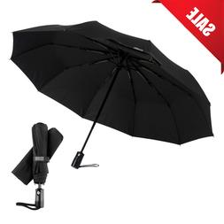 TRAVEL UMBRELLA Automatic Folding Windproof Auto Open Close