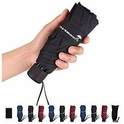 Travel Umbrella Folding Umbrellas - Lightweight Portable Min