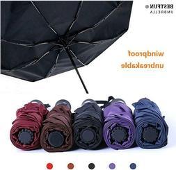 Travel Umbrella - Sun&Rain Compact Umbrella for Men Women an