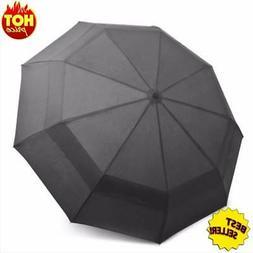 Travel Umbrella Windproof Double Canopy Construction Outdoor