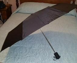 Samsonite Travel Umbrella with Comfort Grip  Black New